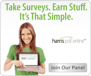 is harris poll online legit